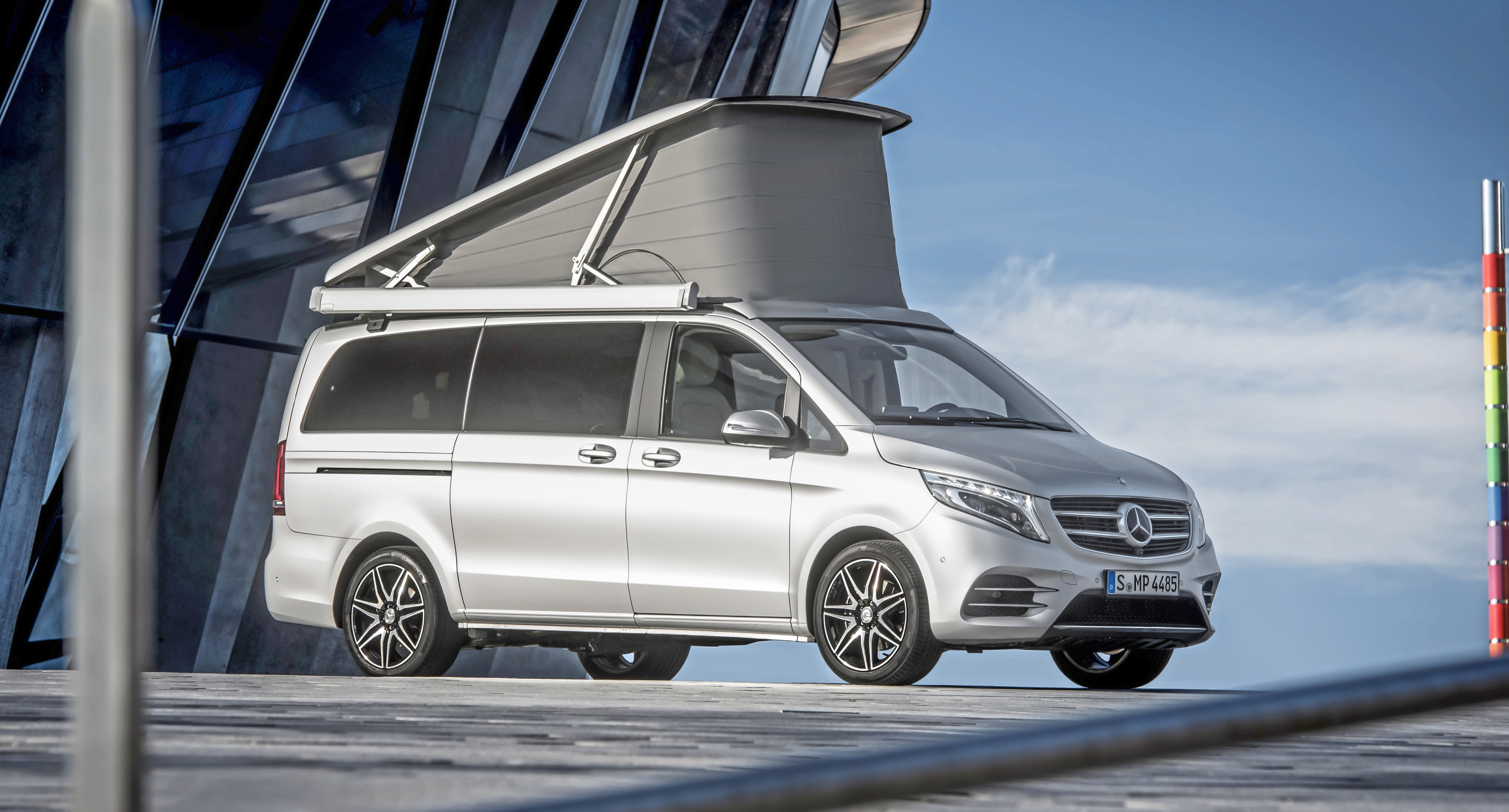 Explore The World With Mercedes New V Class Marco Polo Camper